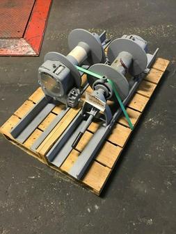 Tulsa Rufnek Winch 10,000 lbs Line Pull, Mechanical Worm Gea