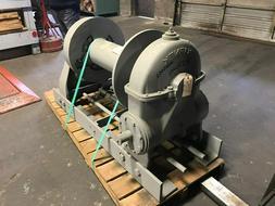 Tulsa Rufnek Winch 100,000 lbs Line Pull, Mechanical Worm Ge