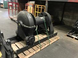 Tulsa Rufnek Winch 130,000 lbs Line Pull, Mechanical Worm Ge