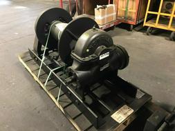 Tulsa Rufnek Winch 45,000 lbs Line Pull, Mechanical Worm Gea