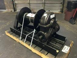 Tulsa Rufnek Winch 65,000 lbs Line Pull, Mechanical Worm Gea