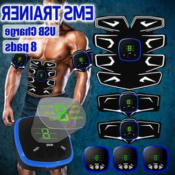 🔥 USB Rechargeable Muscle Training Gear Abdomen Body Exer