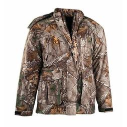 Browning Wasatch Insulated Rain Parka, Realtree Xtra, Small