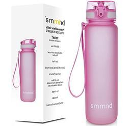 Premium Sports Water Bottle With Leak Proof Flip Top Lid - E