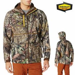 Yukon Gear Men's Waylay Softshell Hunting Jacket, Mossy Oak