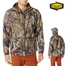 Yukon Gear Men's Waylay Softshell Hunting Jacket, Mossy Oak