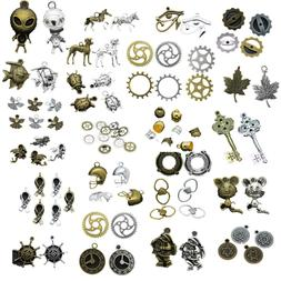 Wholesale Antique Silver/Bronze Alloy Jewelry Crafts Charms