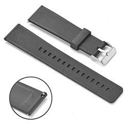 Rerii 22mm Width Silicone Watchbands Strap for Samsung Gear