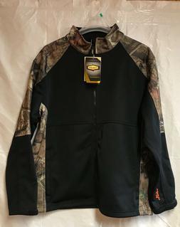 Yukon Gear Men's Windproof Soft Shell Jacket, Break Up Infin