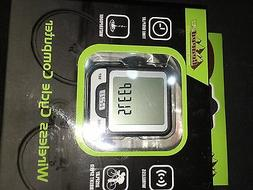 Wireless Bike Computer by Geared2U - Multifunction Bicycle C