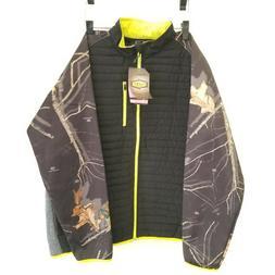 Yukon Gear Womens Jacket Size XL Camo Mossy Oak Teslin Hybri