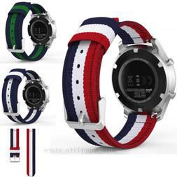 Woven Nylon Band Sport Strap For Samsung Galaxy Watch Gear S