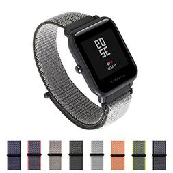 Woven Nylon Sport Loop Band SIKAI 22mm Universal Replacement
