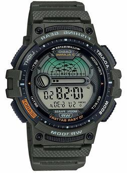 Casio WS-1200H-3AV, 10 Year Battery Watch, 100 Meter WR, Fis