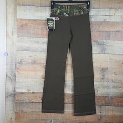 Yukon Gear Lounge Pants Women's Mossy Oak Size S Brown FB15