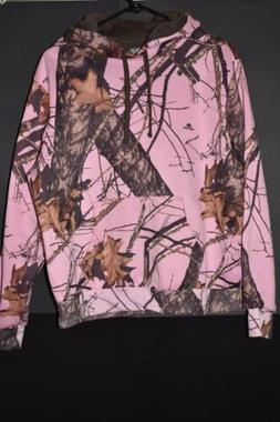 Yukon Gear Womens L Mossy Oak Break Up Infinity Hoodie Sweat