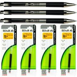 Zebra G301 Gel Pens with Refills, Black Gel Ink, 0.7mm Mediu